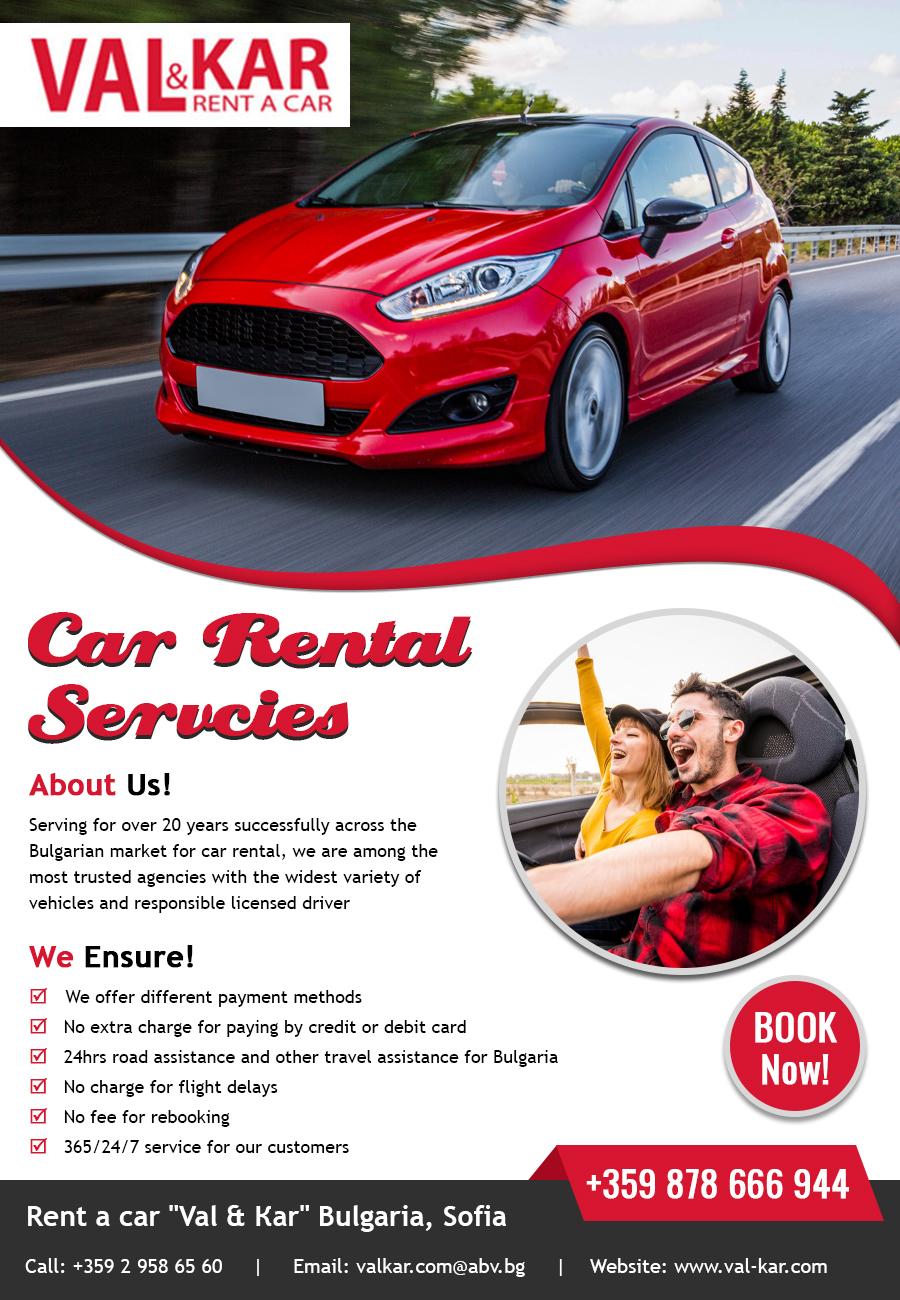 Car Rental Services - Val Kar